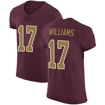 Men's Nike Washington Redskins Doug Williams Burgundy Alternate Vapor Untouchable Jersey - Elite