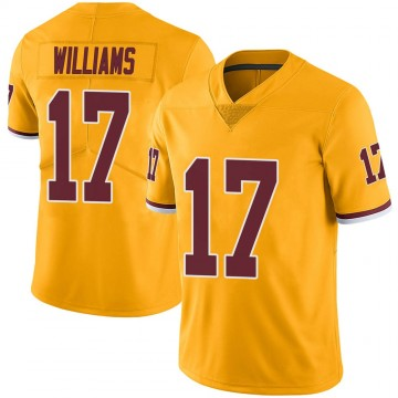 Men's Washington Redskins Doug Williams Gold Color Rush Jersey - Limited
