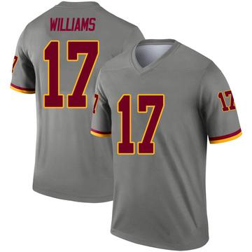Men's Nike Washington Redskins Doug Williams Gray Inverted Jersey - Legend