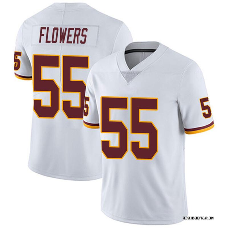 d90a80c3 Men's Nike Washington Redskins Marquis Flowers White Vapor Untouchable  Jersey - Limited