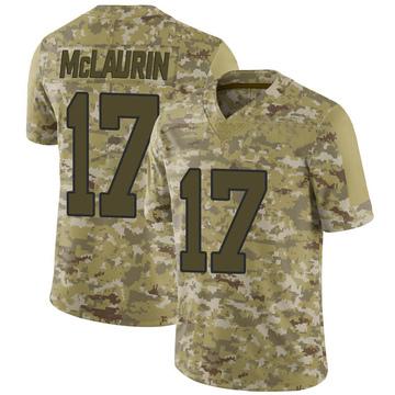 cheap for discount 258ad 1cf05 Women's Nike Washington Redskins Terry McLaurin White Vapor ...