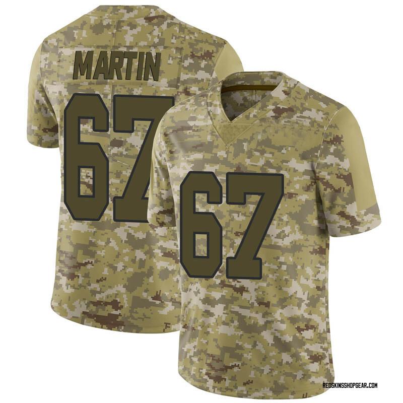Men's Nike Washington Redskins Wes Martin Camo 2018 Salute to Service Jersey - Limited