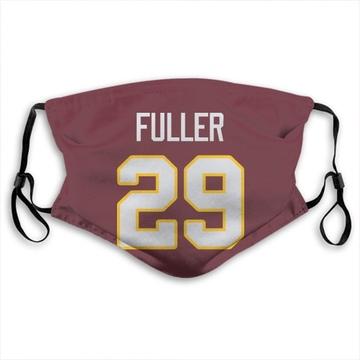 Washington Redskins Kendall Fuller Red Jersey Name & Number Face Mask