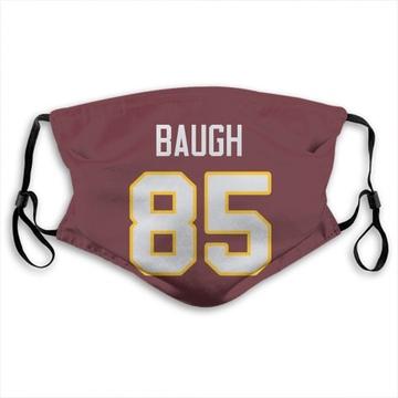 Washington Redskins Marcus Baugh Red Jersey Name & Number Face Mask