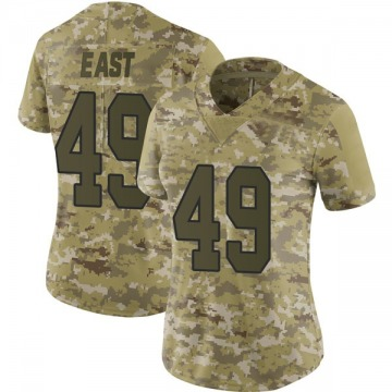 Women's Nike Washington Redskins Andrew East Camo 2018 Salute to Service Jersey - Limited