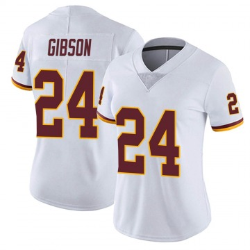 Women's Nike Washington Redskins Antonio Gibson White Vapor Untouchable Jersey - Limited