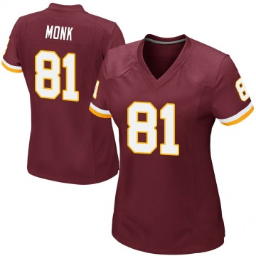 Women's Nike Washington Redskins Art Monk Burgundy Team Color Jersey - Game