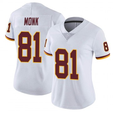 Women's Nike Washington Redskins Art Monk White Vapor Untouchable Jersey - Limited