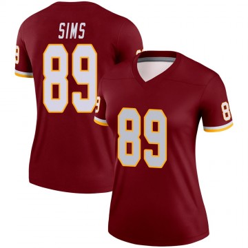 Women's Nike Washington Redskins Cam Sims Burgundy Jersey - Legend