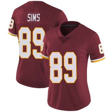 Women's Nike Washington Redskins Cam Sims Burgundy Team Color Vapor Untouchable Jersey - Limited