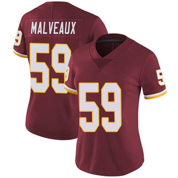 Women's Nike Washington Redskins Cameron Malveaux Burgundy Team Color Vapor Untouchable Jersey - Limited