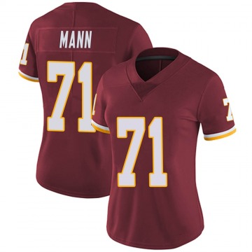 Women's Nike Washington Redskins Charles Mann Burgundy Team Color Vapor Untouchable Jersey - Limited