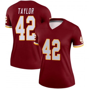 Women's Nike Washington Redskins Charley Taylor Burgundy Jersey - Legend