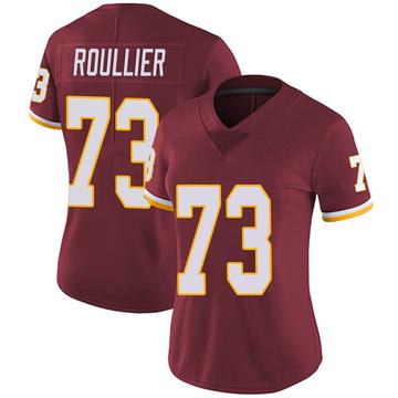 Women's Nike Washington Redskins Chase Roullier Burgundy Team Color Vapor Untouchable Jersey - Limited
