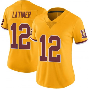 Women's Nike Washington Redskins Cody Latimer Gold Color Rush Jersey - Limited