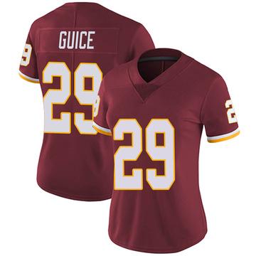 Women's Nike Washington Redskins Derrius Guice Burgundy Team Color Vapor Untouchable Jersey - Limited