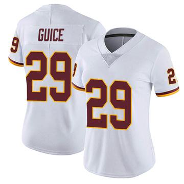 Women's Nike Washington Redskins Derrius Guice White Vapor Untouchable Jersey - Limited