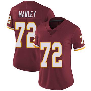 Women's Nike Washington Redskins Dexter Manley Burgundy Team Color Vapor Untouchable Jersey - Limited