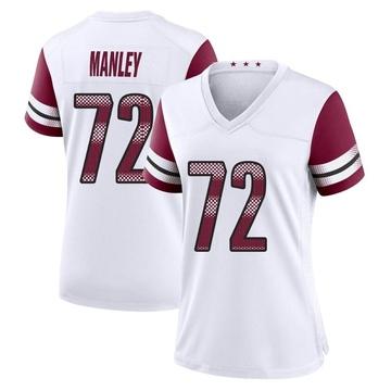 Women's Nike Washington Redskins Dexter Manley White Jersey - Game