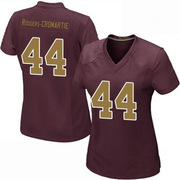 Women's Nike Washington Redskins Dominique Rodgers-Cromartie Burgundy Alternate Jersey - Game