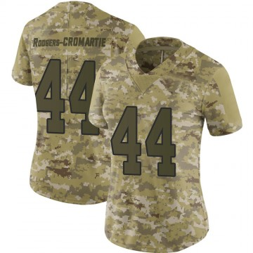 Women's Nike Washington Redskins Dominique Rodgers-Cromartie Camo 2018 Salute to Service Jersey - Limited