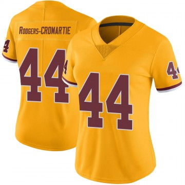 Women's Nike Washington Redskins Dominique Rodgers-Cromartie Gold Color Rush Jersey - Limited