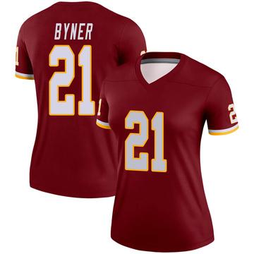 Women's Nike Washington Redskins Earnest Byner Burgundy Jersey - Legend