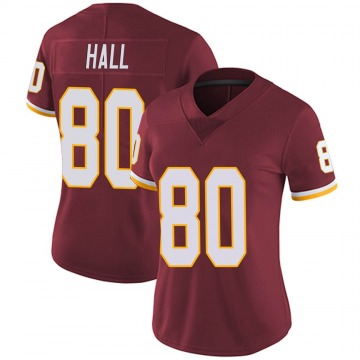 Women's Nike Washington Redskins Emanuel Hall Burgundy Team Color Vapor Untouchable Jersey - Limited