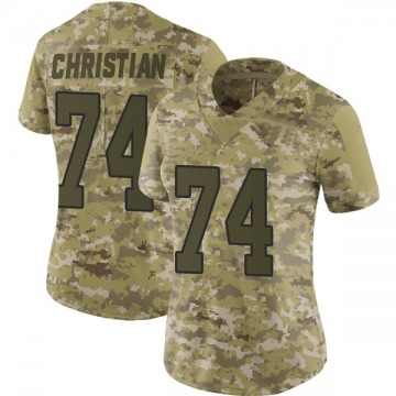 Women's Nike Washington Redskins Geron Christian Camo 2018 Salute to Service Jersey - Limited