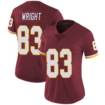 Women's Nike Washington Redskins Isaiah Wright Burgundy Team Color Vapor Untouchable Jersey - Limited