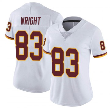 Women's Nike Washington Redskins Isaiah Wright White Vapor Untouchable Jersey - Limited