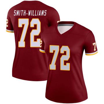 Women's Nike Washington Redskins James Smith-Williams Burgundy Jersey - Legend