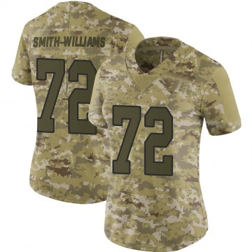 Women's Nike Washington Redskins James Smith-Williams Camo 2018 Salute to Service Jersey - Limited