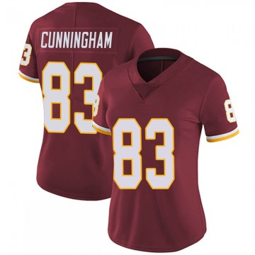 Women's Nike Washington Redskins Jerome Cunningham Burgundy 100th Vapor Jersey - Limited