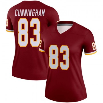 Women's Nike Washington Redskins Jerome Cunningham Burgundy Jersey - Legend