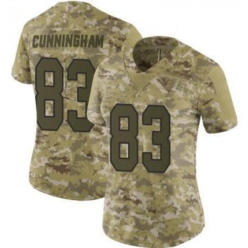 Women's Nike Washington Redskins Jerome Cunningham Camo 2018 Salute to Service Jersey - Limited