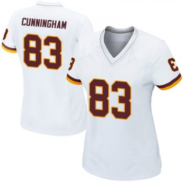 Women's Nike Washington Redskins Jerome Cunningham White Jersey - Game