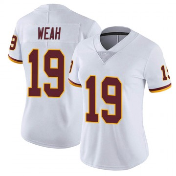 Women's Nike Washington Redskins Jester Weah White Vapor Untouchable Jersey - Limited