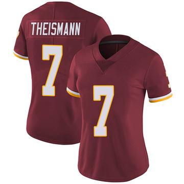 Women's Nike Washington Redskins Joe Theismann Burgundy Team Color Vapor Untouchable Jersey - Limited
