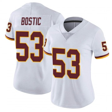 Women's Nike Washington Redskins Jon Bostic White Vapor Untouchable Jersey - Limited