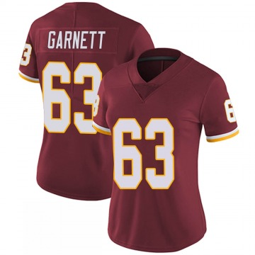 Women's Nike Washington Redskins Joshua Garnett Burgundy 100th Vapor Jersey - Limited