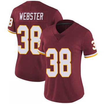 Women's Nike Washington Redskins Kayvon Webster Burgundy 100th Vapor Jersey - Limited