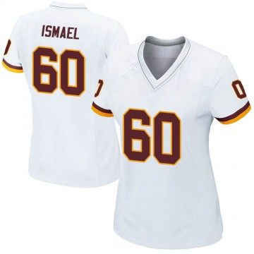 Women's Nike Washington Redskins Keith Ismael White Jersey - Game
