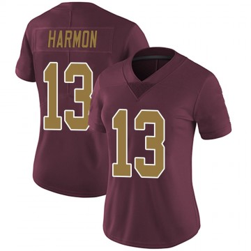 Women's Nike Washington Redskins Kelvin Harmon Burgundy Alternate Vapor Untouchable Jersey - Limited