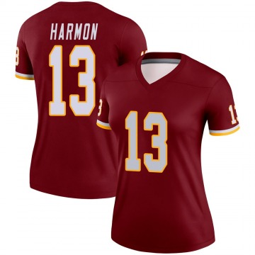 Women's Nike Washington Redskins Kelvin Harmon Burgundy Jersey - Legend