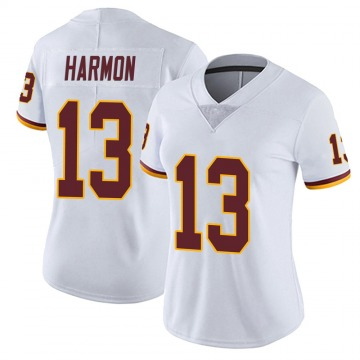 Women's Nike Washington Redskins Kelvin Harmon White Vapor Untouchable Jersey - Limited