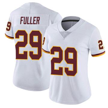 Women's Nike Washington Redskins Kendall Fuller White Vapor Untouchable Jersey - Limited
