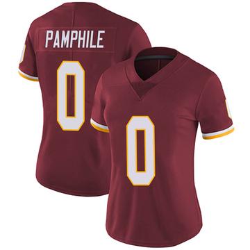 Women's Nike Washington Redskins Kevin Pamphile Burgundy Team Color Vapor Untouchable Jersey - Limited