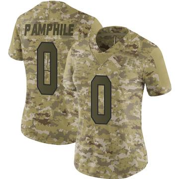 Women's Nike Washington Redskins Kevin Pamphile Camo 2018 Salute to Service Jersey - Limited