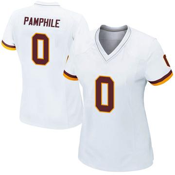 Women's Nike Washington Redskins Kevin Pamphile White Jersey - Game